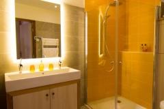 Chambre Double Deluxe Tournesol - Salle de douche