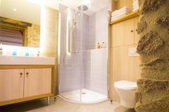 Chambre familiale Lavande - Salle de douche